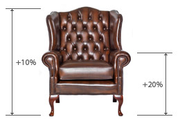 Chesterfield fauteuil
