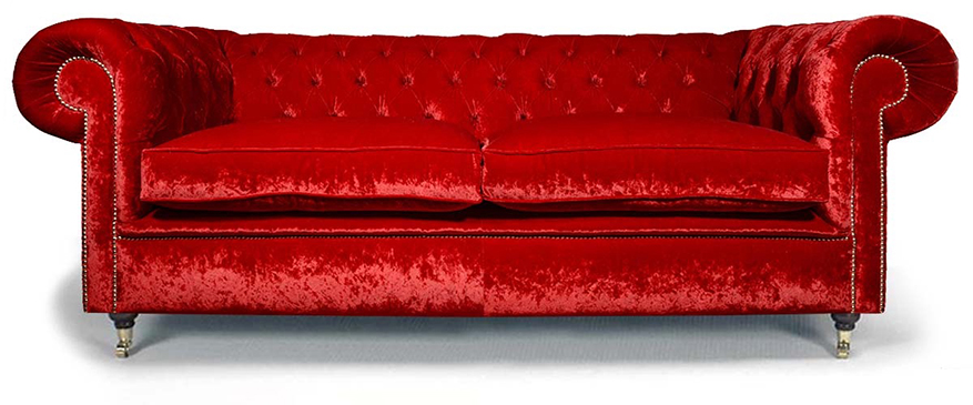 luxuri ses chesterfield das samt chesterfield sofa chesterfieldm bel shop. Black Bedroom Furniture Sets. Home Design Ideas