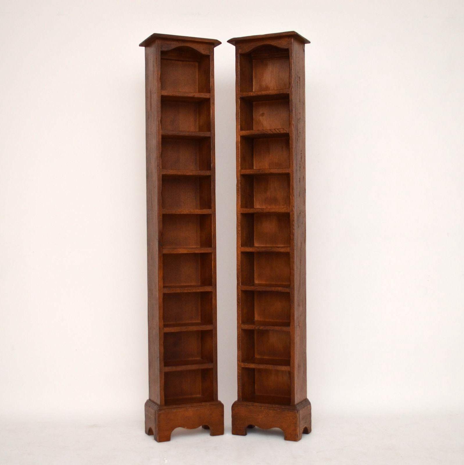 rekonstruierte antike offene b cherregale aus massiver eiche eiche englische antiquit ten. Black Bedroom Furniture Sets. Home Design Ideas