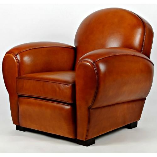 art deco ledersessel clubsessel houston art deco sessel art deco lederm bel. Black Bedroom Furniture Sets. Home Design Ideas