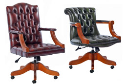 Chesterfield bureaustoelen