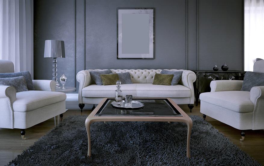 Chesterfield wohnzimmer  Wohnzimmer Wohnideen: Chesterfield Sofa, Mahagoni Möbel & Co ...
